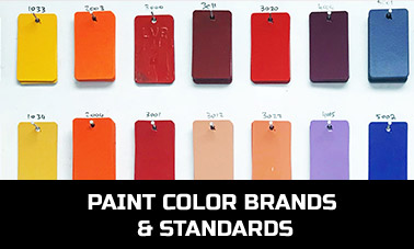 Paint Color Brands & Standards